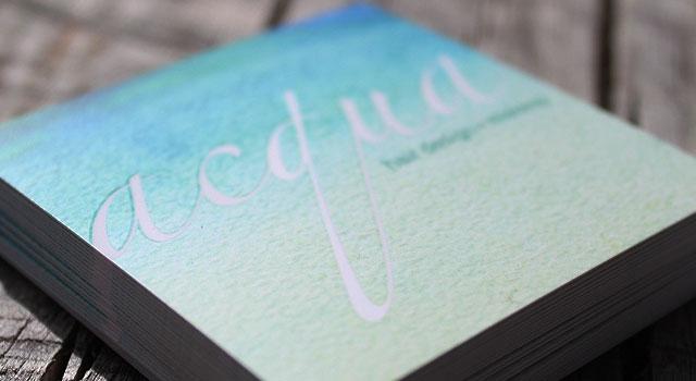 business card design social custom printing