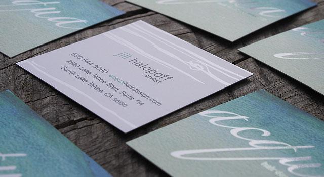 custom business card design printing