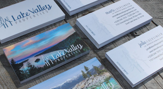 Website lake tahoe business cards branding identity responsive website lake tahoe business cards professional graphic designer reheart Gallery