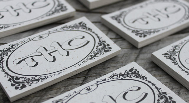 Hemp Business Cards