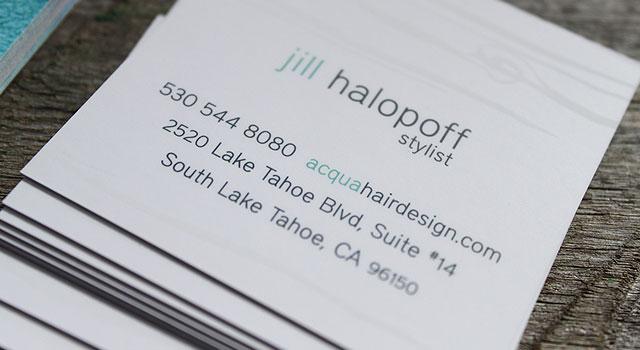 custom design printing business cards