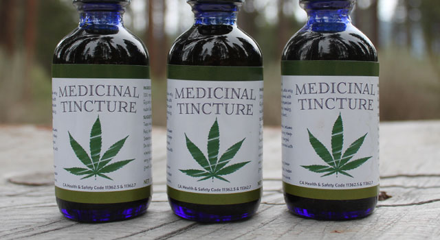 DIY InDesign Template for Cannabis Tincture Label