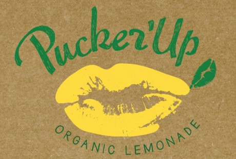 lemon lip logo design by Crystal Ricotta