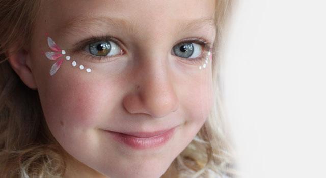face paint, decorative eye makeup