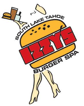 Izzy's Burger Spa logo by Crystal Ricotta