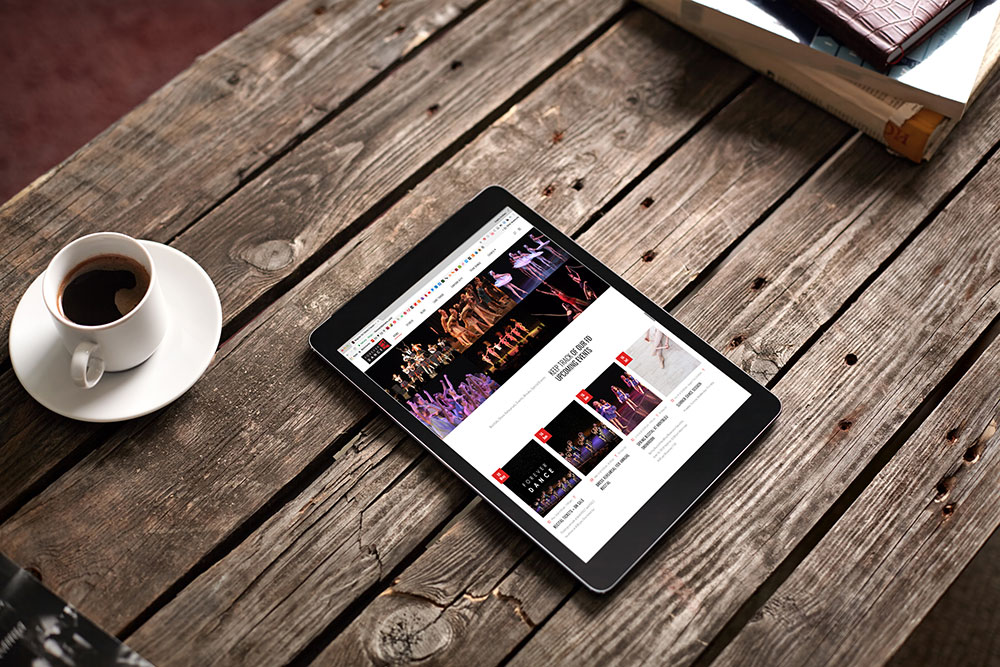 Website Development for a Fabulous Dance Studio