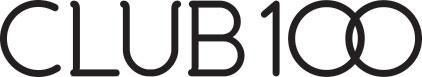 logo by Crystal Ricotta for Club 100